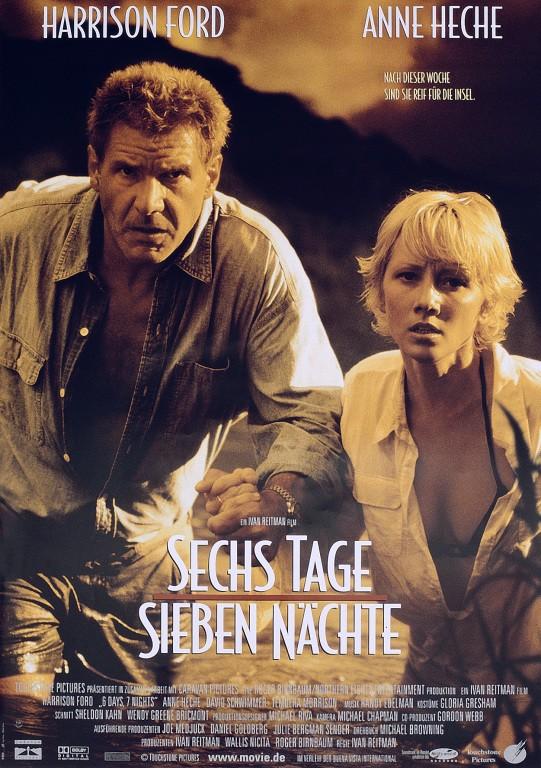 Кино: шесть дней, семь ночей, 1998