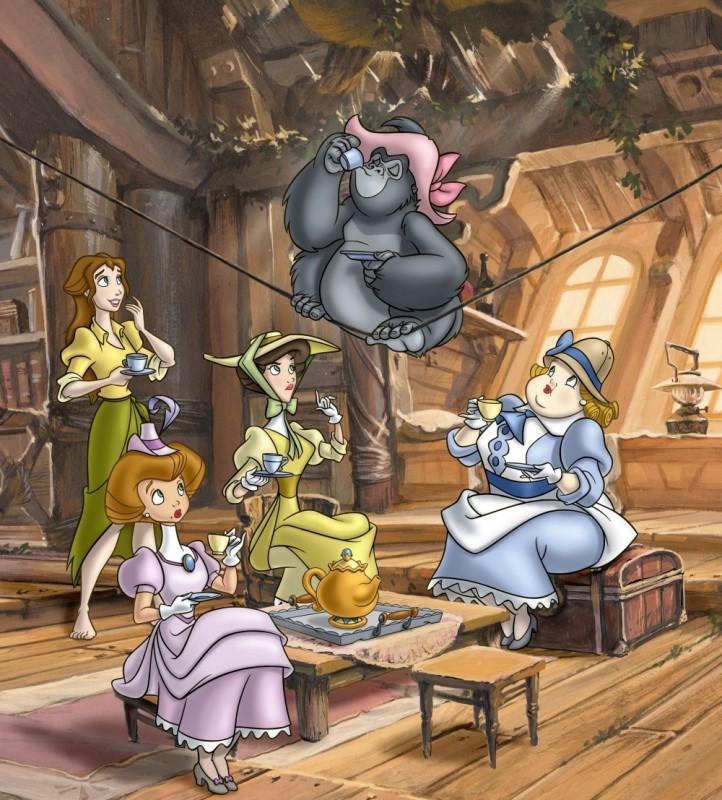 Легенда о Тарзане 1,2 сезон - смотреть онлайн мультфильм ...